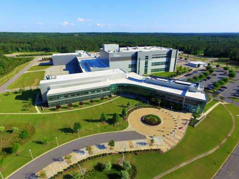 Seqirus cell-based influenza vaccine manufacturing facility, Holly Springs, North Carolina (Photo: Seqirus).