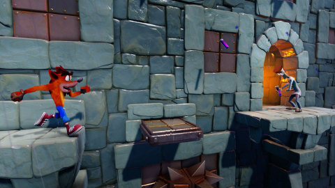 Stormy Ascent is a previously unreleased level from the original Crash Bandicoot™ game and starting today is available for free for 30 days to owners of Crash Bandicoot™ N. Sane Trilogy. (Graphic: Business Wire)
