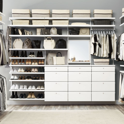 The Container Store introduces new additions to elfa décor – the retailer's best-selling shelving and drawer system that has represented the core of its business for 39 years. (Photo: Business Wire)