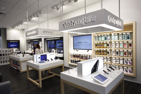 Customers can now enjoy the full Xfinity Mobile experience at the Independence Xfinity Store, located adjacent to the Independence Center. For more, go to www.xfinitymobile.com. (Photo: Business Wire)