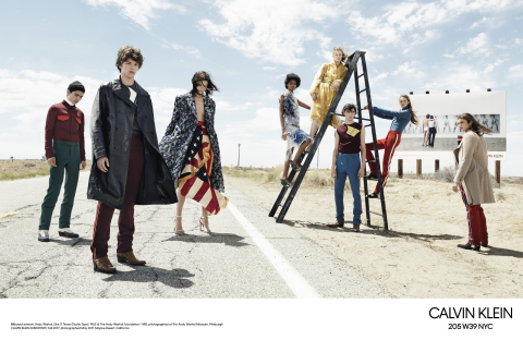 Calvin Klein, Inc. presenta la campagna pubblicitaria mondiale CALVIN KLEIN 205W39NYC autunno 2017