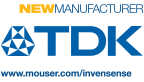 Mouser Electronics announces a global distribution agreement with InvenSense, a TDK Group company and a leading provider of MEMS sensor platforms. (Graphic: Business Wire)