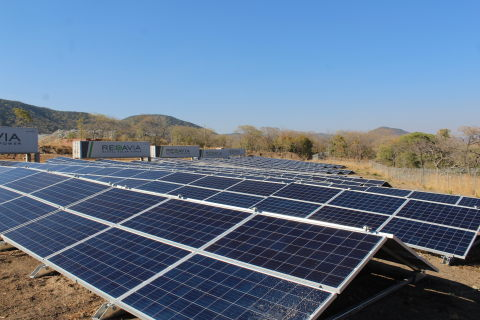 New REDAVIA solar farm for Shanta Gold (Photo: Business Wire)