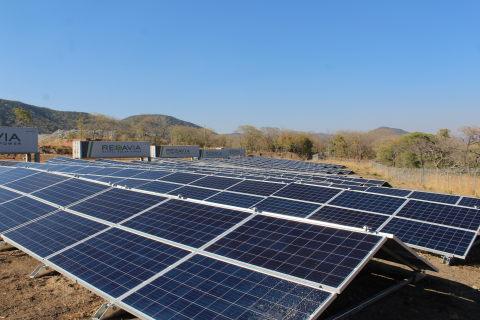 New REDAVIA solar farm for Shanta Gold (Photo: Business Wire)