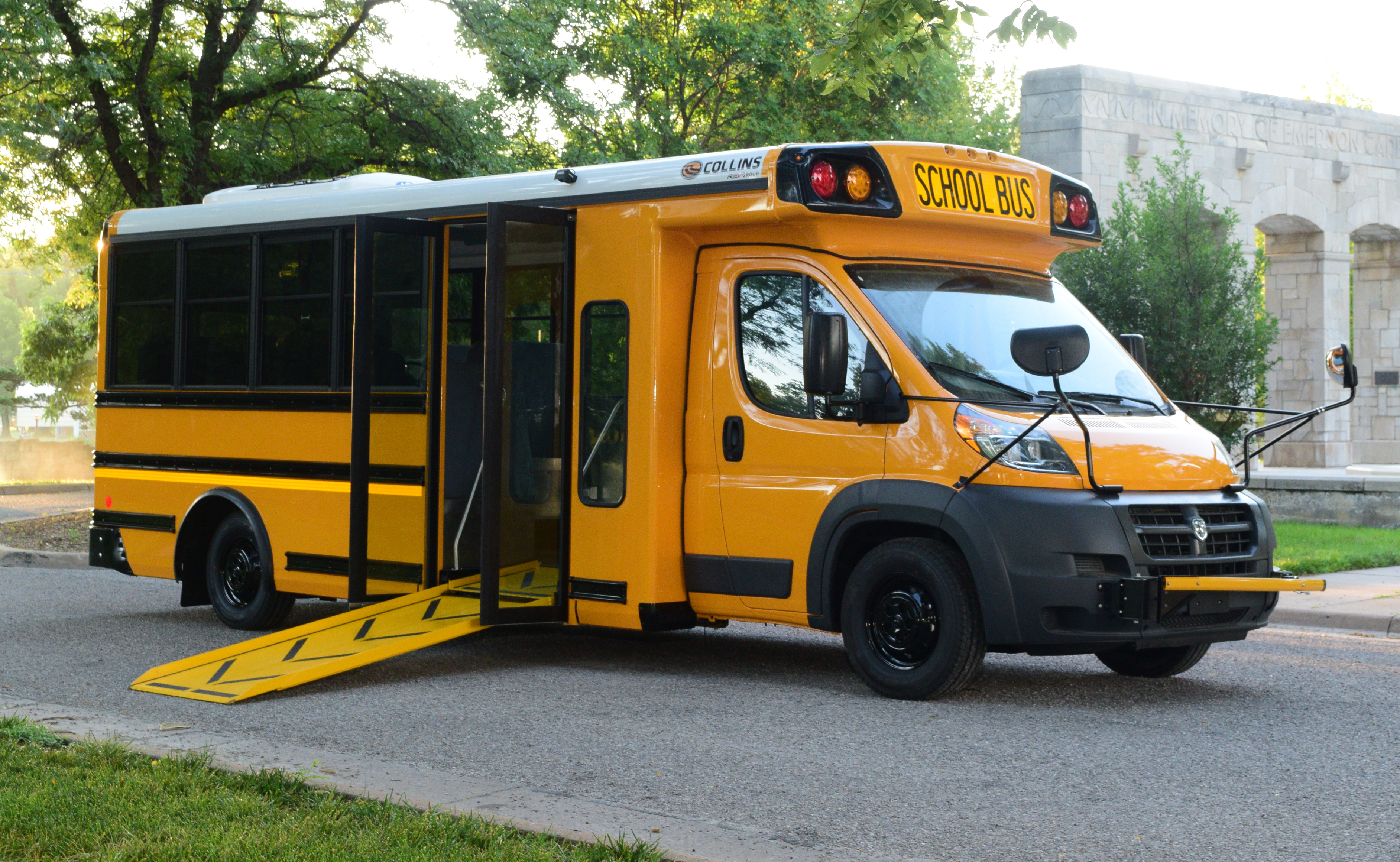 Rev Group Bus Division Collins Bus Introduces First To
