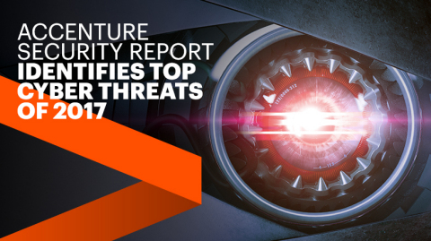 Accenture Security Report Identifies Top Cyber Threats of 2017 (Photo: Business Wire)