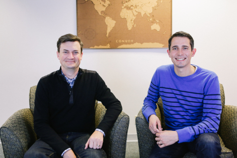 Convoy Co-Founders - Grant Goodale, CTO and Dan Lewis, CEO (Photo: Business Wire)