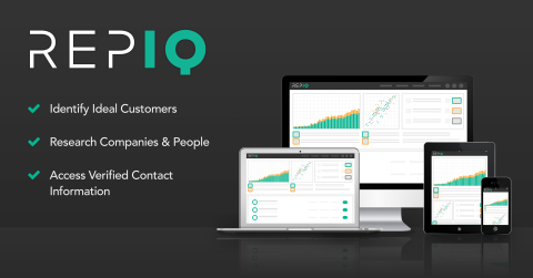 RepIQ debuts AI-powered sales intelligence platform. (Graphic: Business Wire)