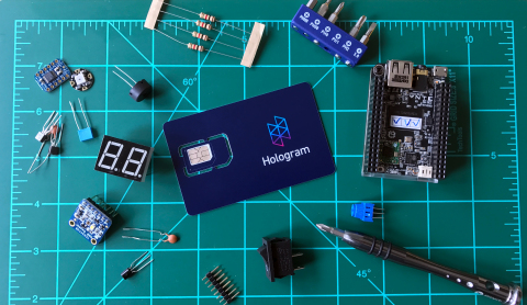 Hologram's Global Cellular IoT sim Card (Photo: Business Wire)
