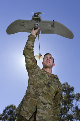 AeroVironment Wasp® AE Unmanned Aircraft System Selected by ADF (Image Courtesy of Australian Defenc ...