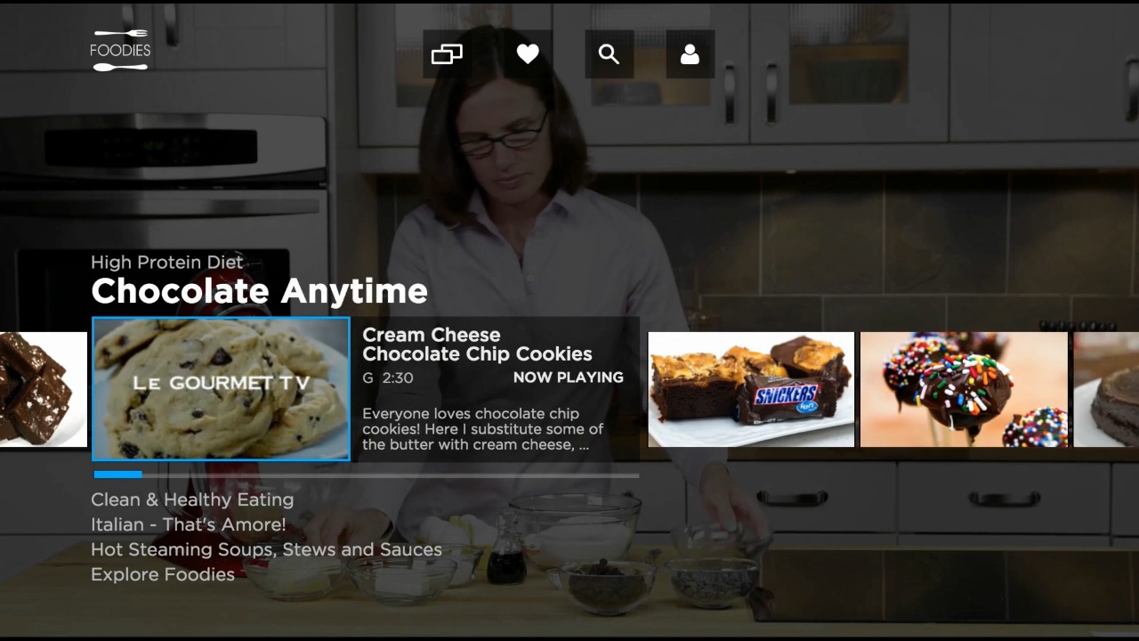 A pay-TV cable network built with artificial intelligence provides a personalized and customized viewing experience.