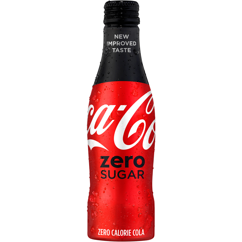 Coca-Cola® Zero Sugar Launches in U S  with New and Improved