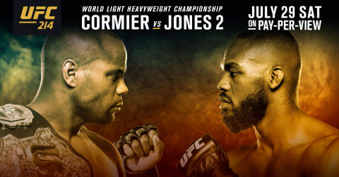 Sling TV offers first-ever pay-per-view event with UFC 214 on Saturday, July 29 (Graphic: Business Wire)