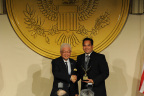 Utah Attorney General Reyes receives Public Servant Award at International Leadership Foundation Gala (Photo: Business Wire)