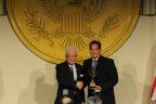 Utah Attorney General Reyes receives Public Servant Award at International Leadership Foundation Gala (Photo: Business Wire)