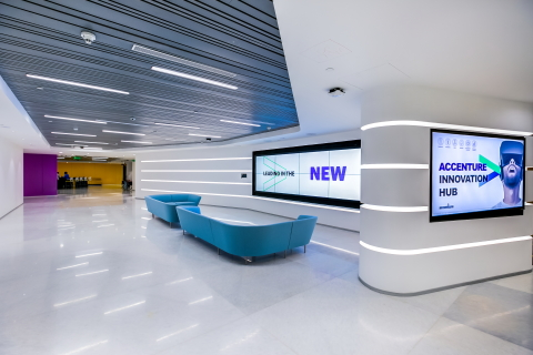 A look inside the Accenture Innovation Hub in Bengaluru (Photo: Business Wire)