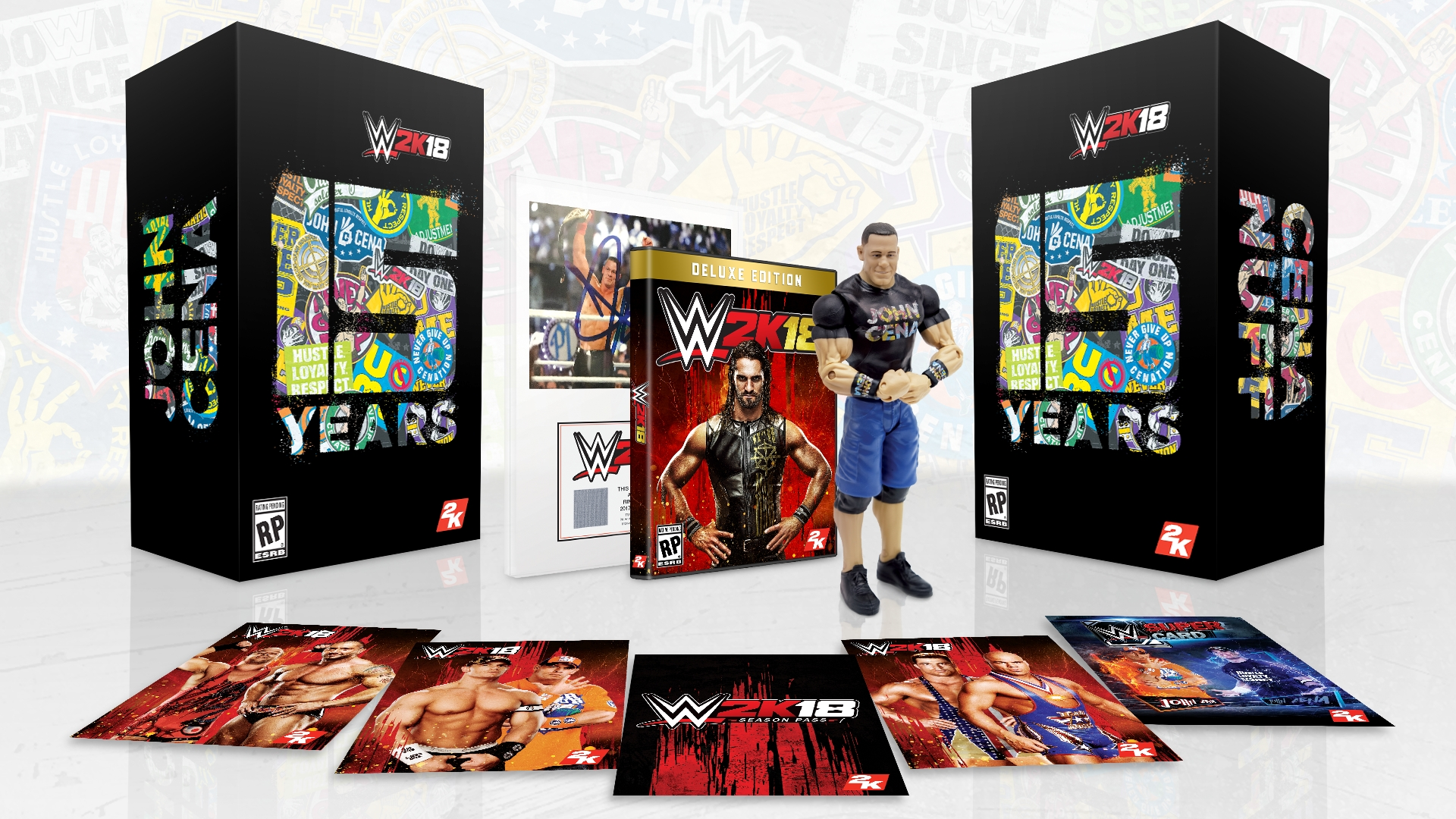 2K Announces WWE® 2K18 Collector's Edition Inspired by