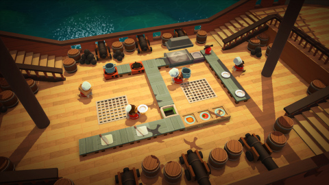 """Overcooked: Special Edition features all the exhilarating (and enraging) kitchens from the main game, as well as both expansions, """"The Lost Morsel"""" and """"Festive Seasoning."""" (Photo: Business Wire)"""