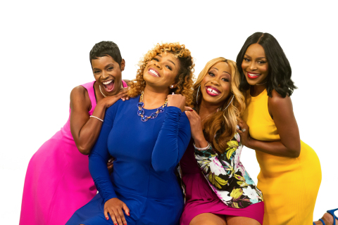 From left: Rashan Ali, Syleena Johnson, Kiana Dancie and Quad Webb-Lunceford (Photo: Business Wire)