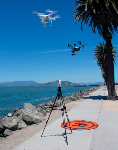 SlingStudio production system now compatible with DJI drone systems. (Photo: Business Wire)