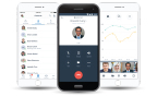 8x8 Unveils Elegantly Redesigned and Integrated Mobile App to Enhance Cloud Communications, Collaboration and Messaging Experience (Graphic: Business Wire)
