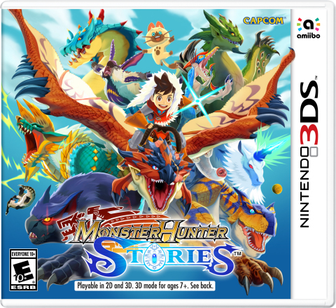 Monster Hunter Stories serves as an introduction to the popular franchise, which finds you discovering and customizing the skills of a wide variety of fantastical beasts. A free demo for Monster Hunter Stories will be available in Nintendo eShop on Nintendo 3DS on Aug. 10. (Photo: Business Wire)