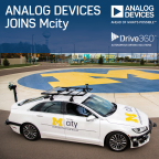 Analog Devices Joins University of Michigan's Mcity Initiative for Advancing Connected and Autonomous Vehicles (Photo: Business Wire)
