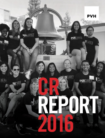 PVH Corp. Releases 2016 Corporate Responsibility Report (Photo: Business Wire)