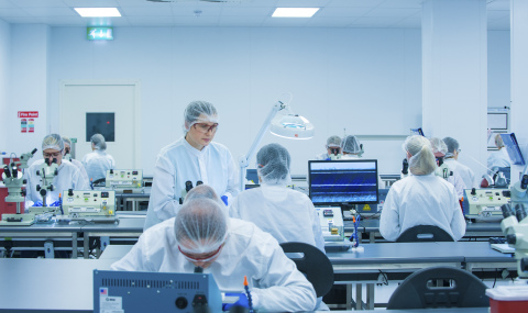 Manufacturing and assembly of catheter-based medical devices (Photo: Business Wire)