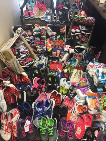 2017 marks the third year Regions branches in western Florida will collect shoes and socks for stude ...