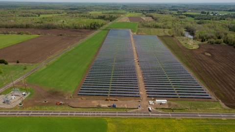 Grosolar And Cms Energy Begin Operations Of A New Solar
