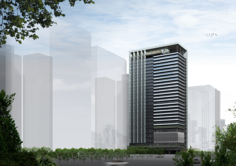 Rendition of The Okura Prestige Taichung (Graphic: Business Wire)
