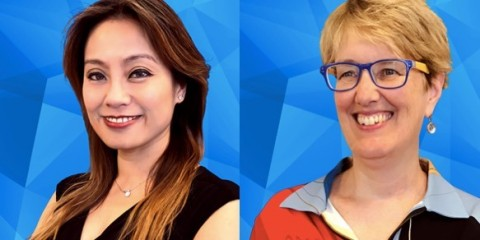 Veronica Lee, Vice President of Customer Success, and Margaret Olson, Senior Vice President of Engineering (Photo: Business Wire)