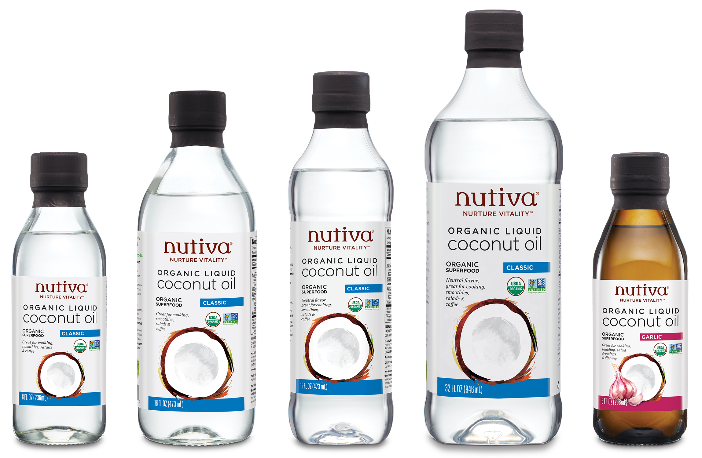 Nutiva Unveils New Organic Liquid Coconut Oils | Business Wire