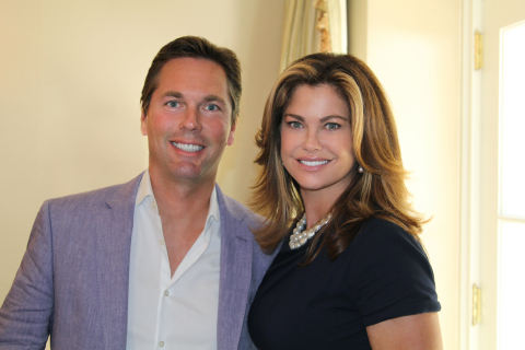 Martin Sumichrast and Kathy Ireland – Co-Founders of Level Brands. (Photo: Business Wire)