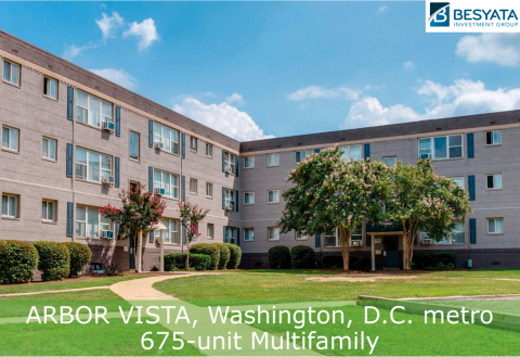 Besyata Investment Group & The Scharf Group, both NY-based single family offices, have acquired Arbor Vista in Washington D.C. (Photo: Business Wire)
