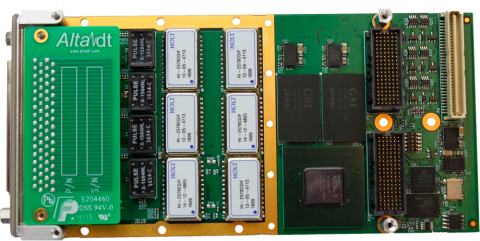 XMC High Density, High Performance MIL-STD-1553 Interface for VPX, VME, SBCs, CompactPCI, PXI (Photo ...