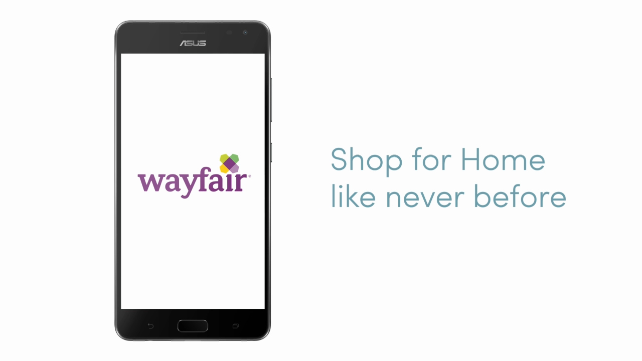 Wayfair makes it possible for consumers to see virtual furniture and décor in their homes at full scale before they buy.
