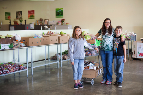 One in eight people could go hungry today. During September, visit your local Rent-A-Center and donate to help Fill the Fridge and fight hunger. (Photo: Business Wire)