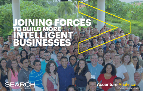 Search Technologies is now part of Accenture Analytics, coming together to build more intelligent businesses (Photo: Business Wire)