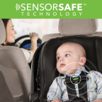 Evenflo SensorSafe-equipped car seats alert caregivers when a child is still in the car seat when the car has been turned off. (Photo: Business Wire)