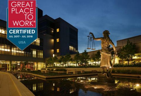 LegalShield certified Great Place to Work (Graphic: Business Wire)