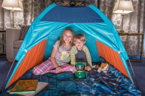 Glamping by the Park, Trump International Hotel & Tower New York (Photo: Business Wire)