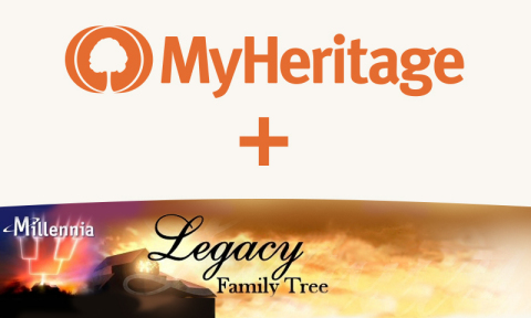 MyHeritage Acquires the Legacy Family Tree Software and Webinar Platform (Graphic: Business Wire)