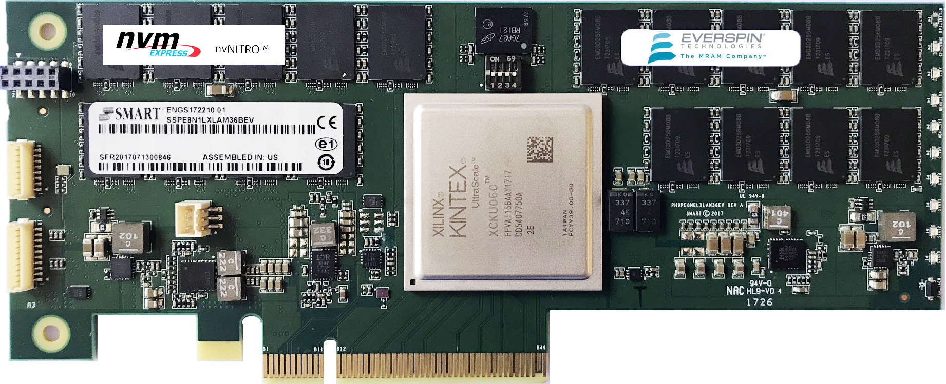 Everspin Announces Production Release of 1 and 2 Gigabyte