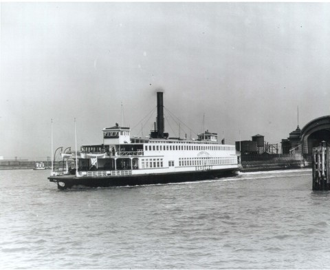 Berkeley as she appeared in the early-twentieth century. (Photo: Maritime Museum of San Diego)