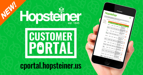 Hopsteiner is excited to announce its first-ever web-based hop purchasing system, The Hopsteiner Customer Portal. (Photo: Business Wire)