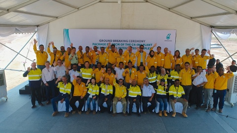 Groundbreaking of PETRONAS isononanol chemical plant in Malaysia (Photo: Business Wire)