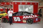 Earnhardt Jr. revealed the paint scheme during a live broadcast at Axalta's Customer Experience Center. (Photo: Axalta)