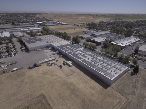 Zurn Industries installs solar at Paso Robles, CA facility. (Photo: Business Wire)